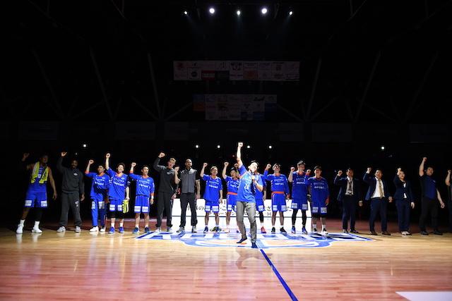 2018-19シーズン 茨城ロボッツ 最終戦 セレモニー