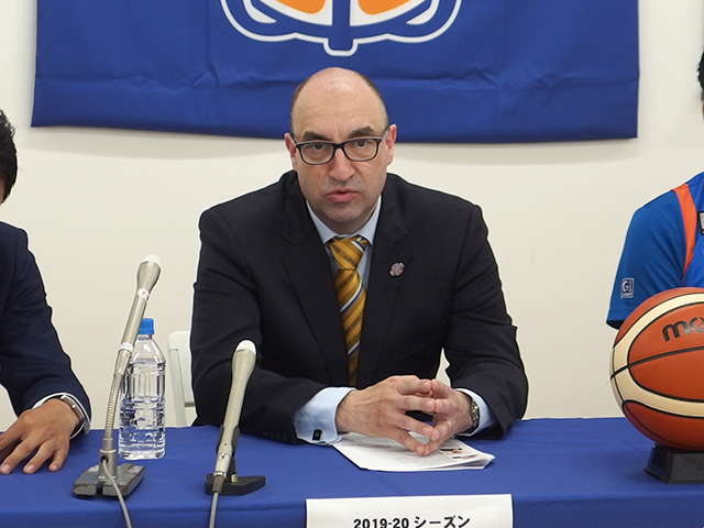 アンソニー・ガーベロット(Anthony GARBELOTTO)ヘッドコーチ就任発表記者会見レポート