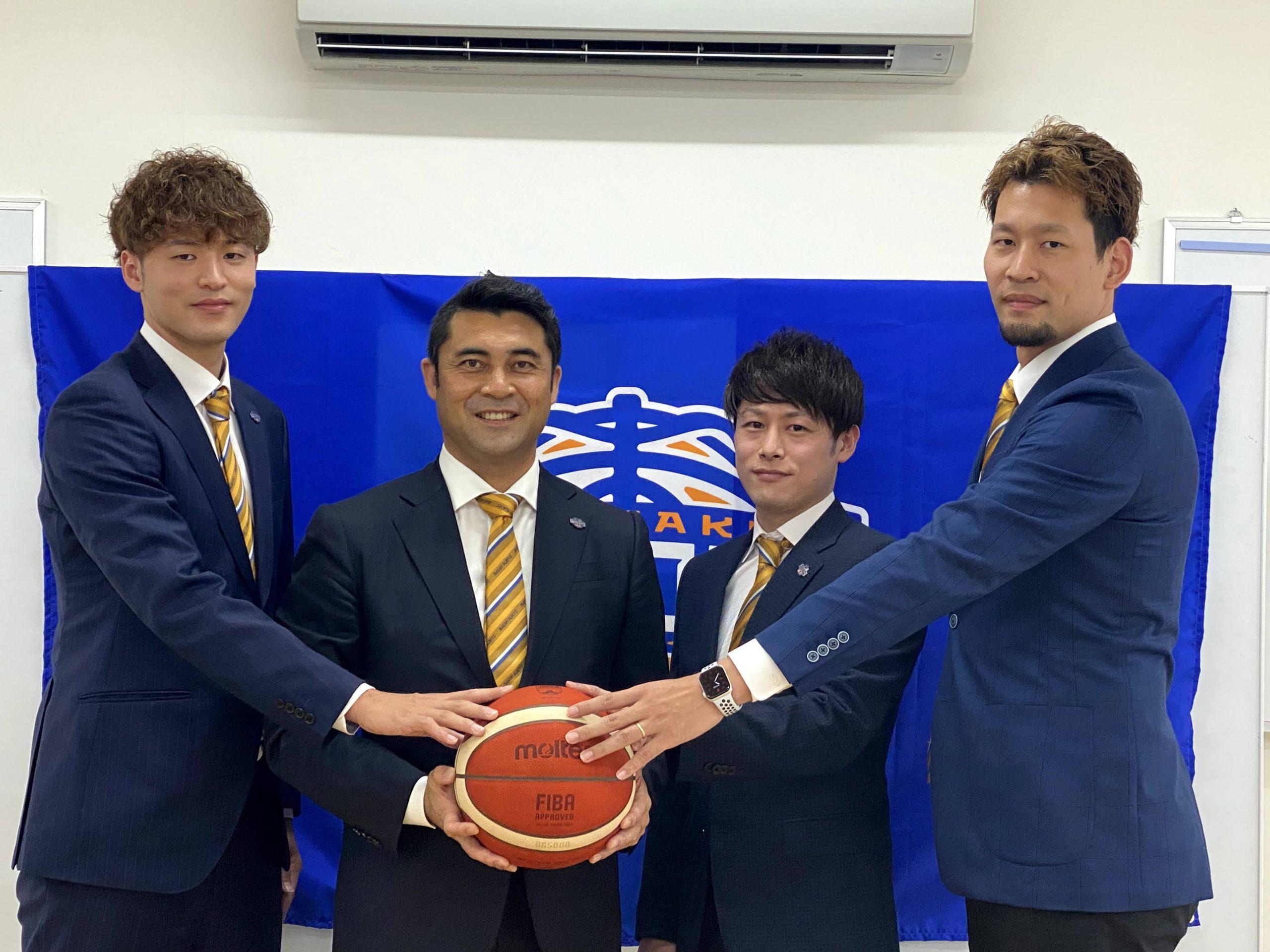 「ウイニングカルチャー」への第一歩~2021-22シーズン・新加入選手記者会見~